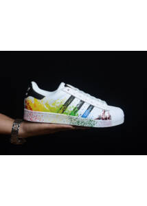 Adidas Superstar Painted