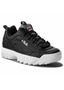 Fila Disruptor II Low Black Leather