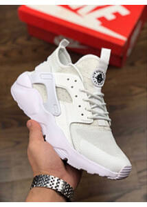 Nike Air Huarache White w Black