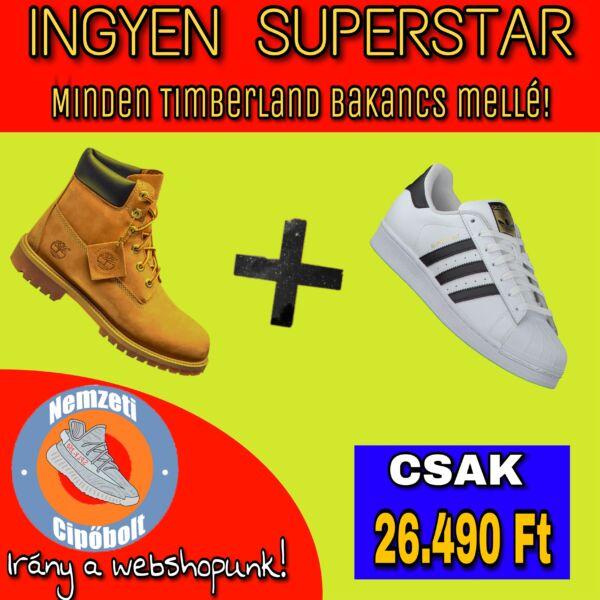 Timberland + INGYEN Superstar