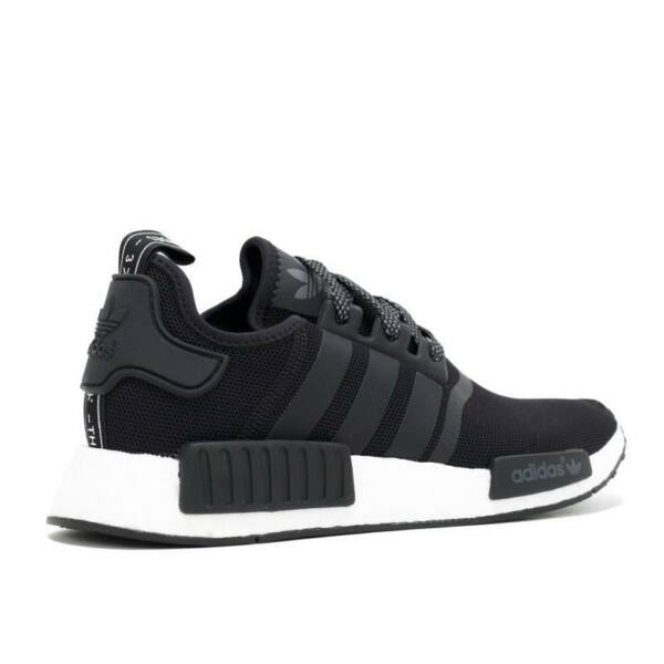 Adidas NMD R1 Black on White