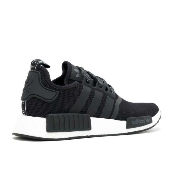 Adidas NMD R1 Black on White