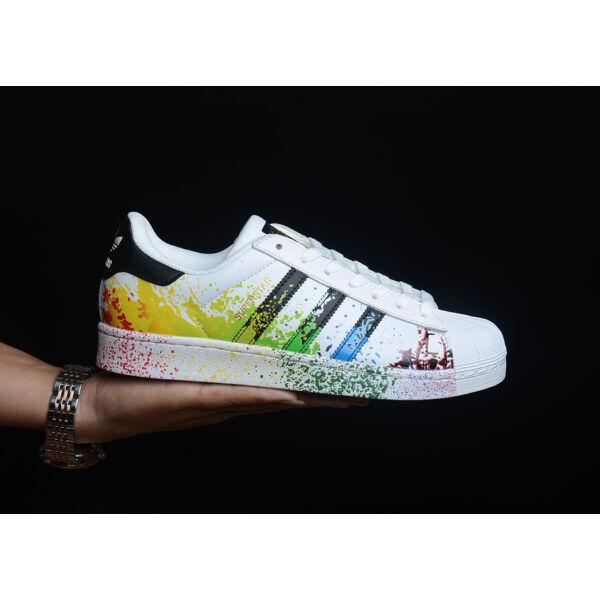 Adidas Superstar Painted