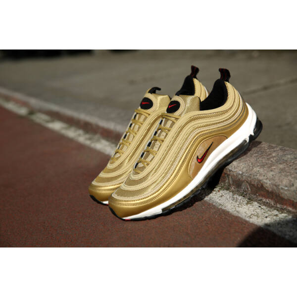 Nike AirMax 97 Gold/Red