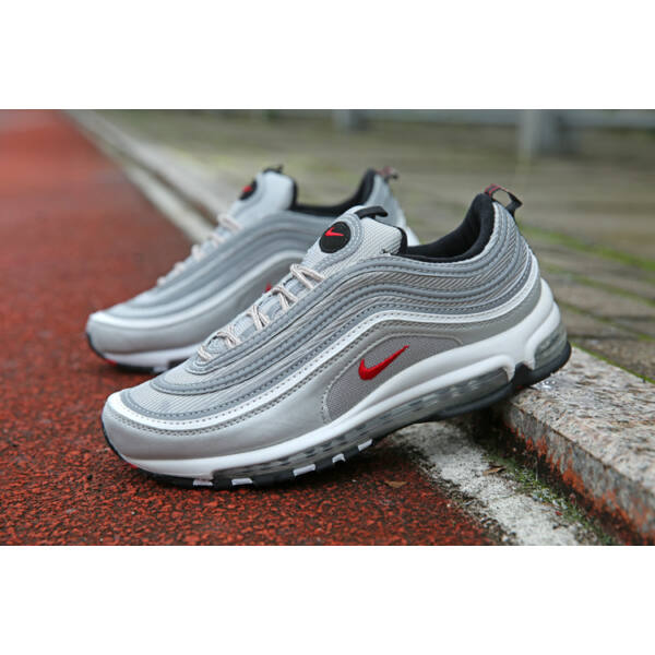 Nike AirMax 97 Silver/Red