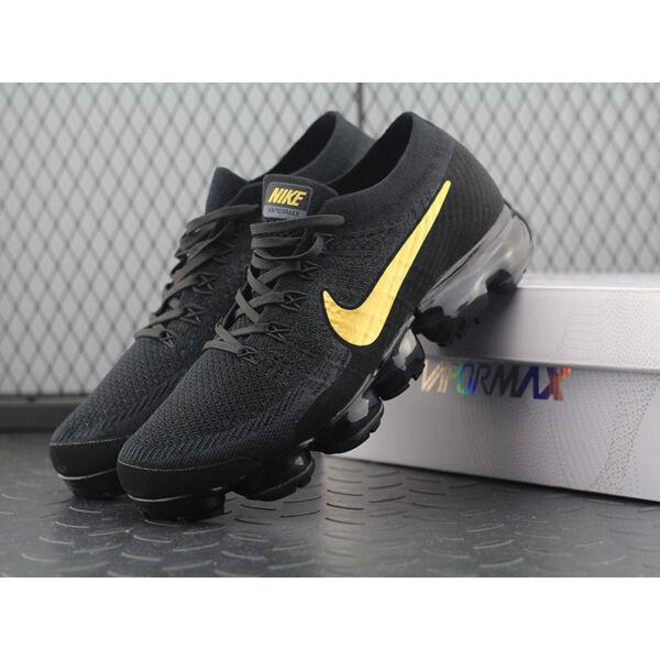Nike Vapormax Flyknit Black&Yellow